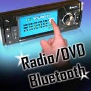 Autoradio DVD TFT DIVX USB TACTILE et KIT MAINS-LIBRES BLUETOOTH - Réf: DM4002