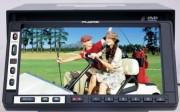 Autoradio DVD VCD MP3 CD FM NEUF écran tactile double emplacement lecteur MMC/SD prise USB - Réf: DVD6580