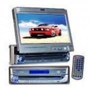 Autoradio Pyle 4 x 60 Watts - Ecran TFT 7 pouces & Télécommande intégré - Réf : PLDVIN7