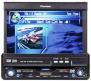 Autoradio TFT Tactile Jensen 7 In-Dash - DVD/MP3/CD/WMA/IPOD/BLUETOOTH - Réf: VM9512
