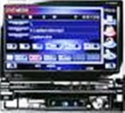 Autoradio TFT Tactile Kenwood 7 In-Dash -TV - Réf: KVT819DVD - DVD/TV/MP3/CD/WMA