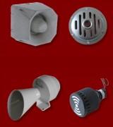 Avertisseur sonore industriel - Electriques ou électroniques