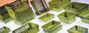 Bac à anses emboîtable industriel - Usage : Industriel - Dimensions extérieures (L x l x H) : 600 x 400 x 237 mm