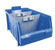 Bac à bec à séparateur en plastique - Volume : 8 Litres