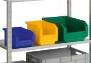 Bac à bec industriel - Disponible en plusieurs tailles et couleurs.