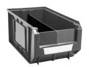 Bac à bec industriel en polypropylène - Usage : Industriel - Couleur : Noir , transparent