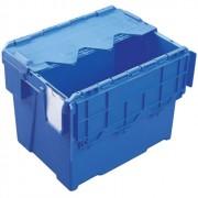 Bac à couvercle intégré 25 L - Volume : 25 L - Dim: L.400 x lg.300 x h.306 mm - Matière : polypropylène