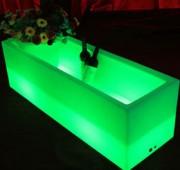 Bac à glaçons et bouteilles Led-RGB - Mobilier lumineux pour cocktails et apéritifs aux bars