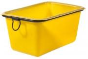 Bac à mortier en polyéthylène - Capacité : 200 litres