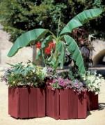 Bac à palmier de ville - Hauteurs : de 400 à 600 mm