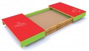 Bac à sable avec couvercle - Norme EN 1176 / de 1 à 12 ans