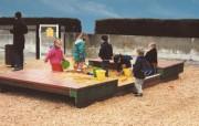 Bac à sable pour aire de jeux 420 x 210 - Age 18 mois à 5 ans