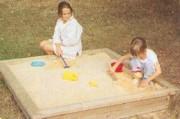 Bac à sable pour enfant - Dimensions (LxlxH) : 1.50 m x 1.50 m x 0.23 m