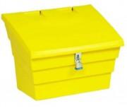 Bac à sel ou sable Cadenassable - Capacité : 50, 175, 350 - Plusieurs couleurs