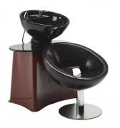 Bac à shampoing professionnel - Structure fauteuil en fibre de verre.