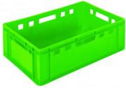 Bac pour viande empilable - Capacité: 38L - L 600 x l 400 x H 200 mm