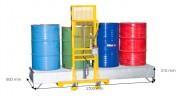 Bac acier de rétention 440 Litres - Capacité : 440 L