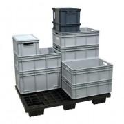 Bac alimentaire pour manutention et stockage