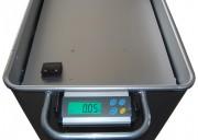 Bac aluminium avec système de pesage