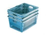 Bac aluminium emboitable 89 litres - Forme conique - Capacité (L) : 89