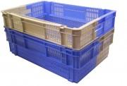 Bac bicolore gerbable emboîtable - 3 hauteurs disponibles : 170 - 200 -260 mm