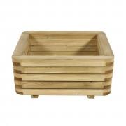 Bac carré en bois