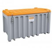 Bac de chantier avec trappe latérale - Capacité (L) : 400 - 750