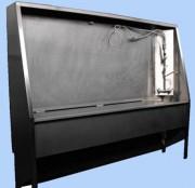 Bac de nettoyage pour matériel de VSAV - Entièrement en inox 304