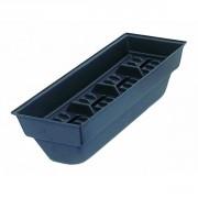 Bac de rangement étiquettes - Vendu par paquet de 3 - L40 x l15 x H11 cm