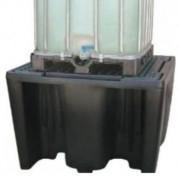 Bac de rétention 1 cubitainer en polyéthylène - PEHD - En polyéthylène - Cubitainer, Cuve et IBC - Dim. 1450 x 1450 x 1000 mm
