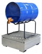 Bac de rétention 1 fût - Charge utile (Kg) : 300