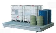 Bac de rétention 1000 litres - En acier