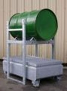 Bac de rétention acier galvanisé - Bacs métalliques en acier galvanisé à chaud