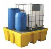 Bac de rétention en PEHD pour transicuve - Volume de rétention : 1000 litres