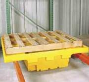 Bac de rétention en pehd sur lisses - Capacité : 250 Litres