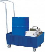 Bac de rétention mobile 60 L - En polyéthylène
