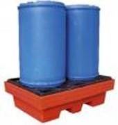 Bac de rétention plastique en polyéthylène - Bac de rétention en Polyéthylène