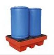 Bac de rétention plastique pour 1 à 4 fûts - Bacs de rétention en polyéthylène