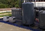 Bac de rétention pliable 80 000 L - Souple - Résistance à la déchirure 45 / 45 daN