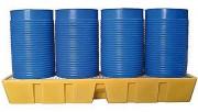 Bac de rétention polyéthylène 1100 Kg - Caillebotis plastique