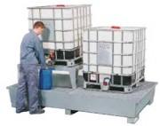 Bac de rétention pour 2 cubitainers 1000 litres - W.8851, W.9846