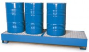 Bac de rétention pour 4 fûts 440 L - Volume de rétention : 440 litres
