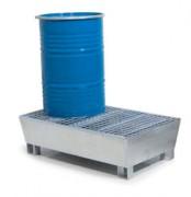 Bac de rétention pour fûts conique - Galvanisé - 220 L