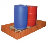 Bac de rétention pour stockage temporaire - Matière PVC renforcé 900 gr/m² - Rétention : de 500 à 1750 L