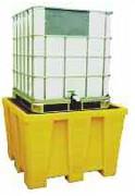 Bac de rétention pour transicuve 1200 litres - Charge admissible : 2000 Kg