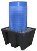 Bac de rétention pour transicuve en polyéthylène - Dimensions : 925x755x555 mm