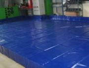 Bac de rétention souple 52500 litres - Bac de rétention pliable sur-mesure