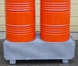 Bac de stockage en rétention - Capacité de rétention : 220 litres