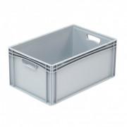 Casier pour 40 verres - Dimensions extérieures :  600 x 400 x 120 mm  - Matière : Polypropylène
