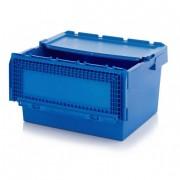 Bac de transport en polypropylène recyclé - Dimensions extérieures : 300 x 200 x 190 mm - Capacité de charge :  De 15 à 50 kg